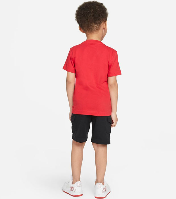 Nike  Boys Cargo Shorts Set  Black - 76H383-023 | Jimmy Jazz