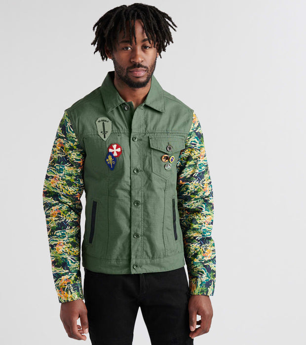 A.K.O.O.  Nevermore Jacket  Green - 7818403-THY | Jimmy Jazz