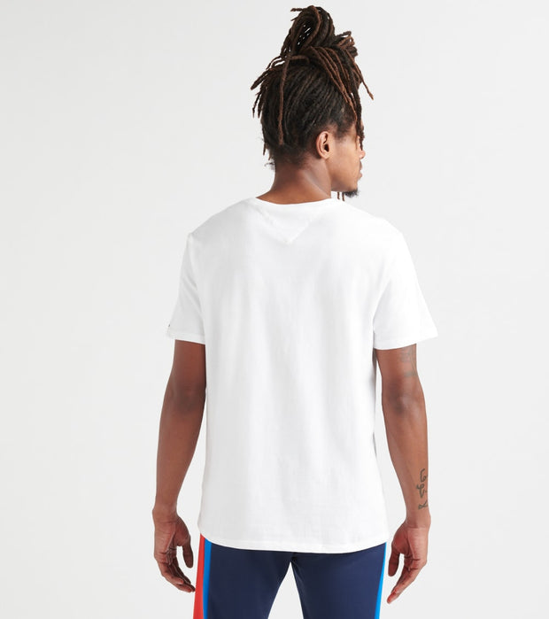 Tommy Hilfiger  Lock Up Flag Tee  White - 78B8340-112 | Jimmy Jazz