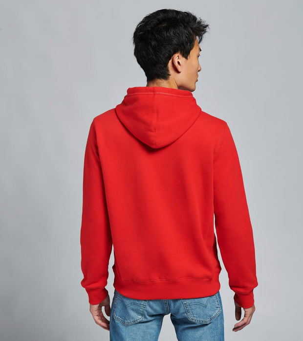 Tommy Hilfiger  Brooks Pullover Hoodie  Red - 78C9176-617 | Jimmy Jazz