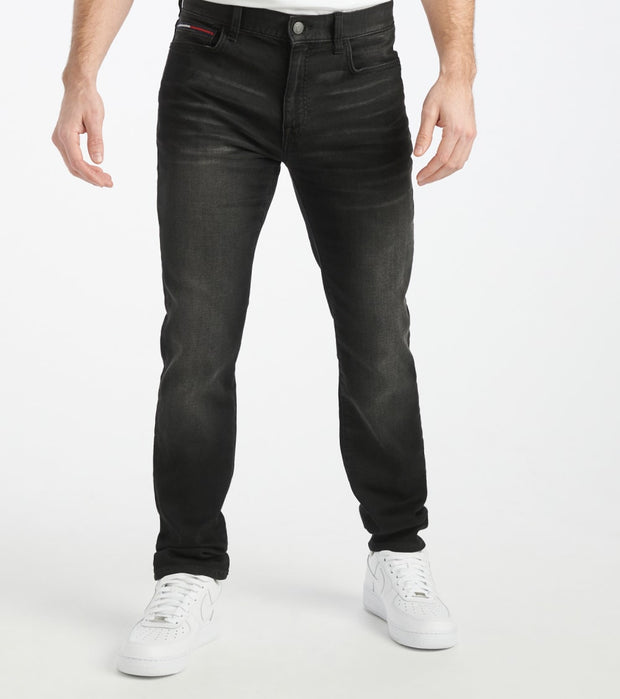Tommy Hilfiger  Slim Knit Black Fade Jean  Black - 78D8797-070 | Jimmy Jazz