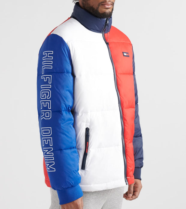 Tommy Hilfiger  Axel Colorblock Puffer Jacket  Multi - 78E2645-112 | Jimmy Jazz