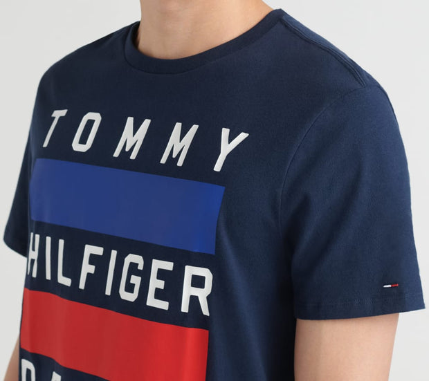 Tommy Hilfiger  The Dash Tee  Black - 78E2803-002 | Jimmy Jazz