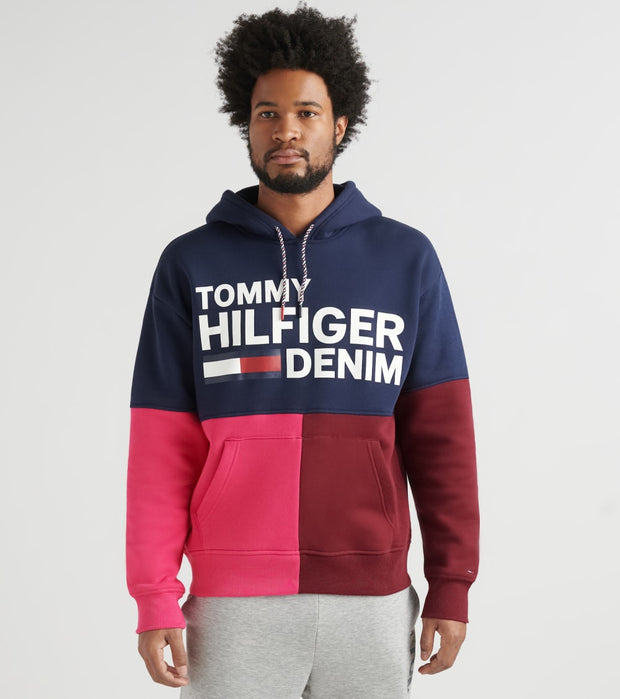 Tommy Hilfiger  Ollie Pullover Hoodie  Black - 78E3240-002 | Jimmy Jazz