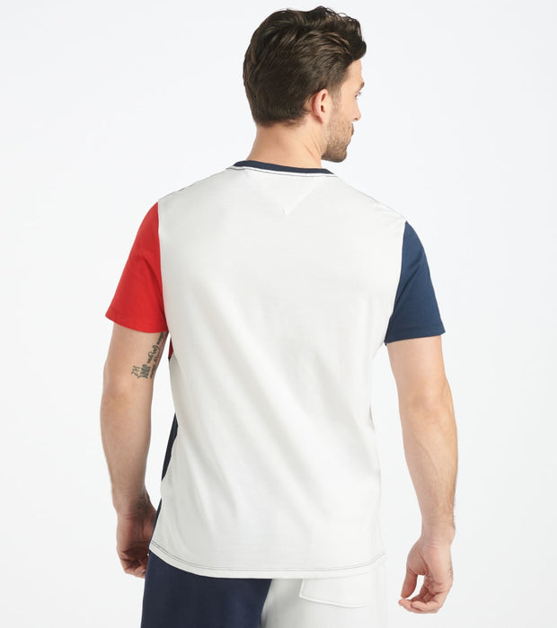 Tommy Hilfiger  Trace Tee  Navy - 78E7221-112 | Jimmy Jazz