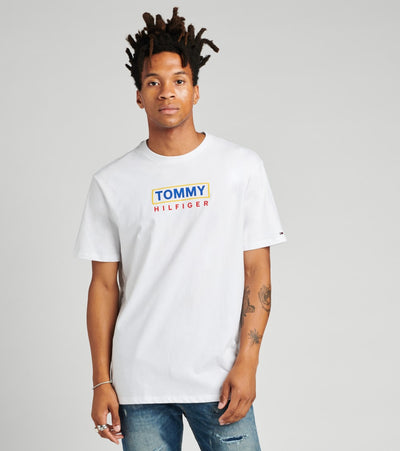 Tommy Hilfiger  Milford Short Sleeve Tee  White - 78E8168-112 | Jimmy Jazz