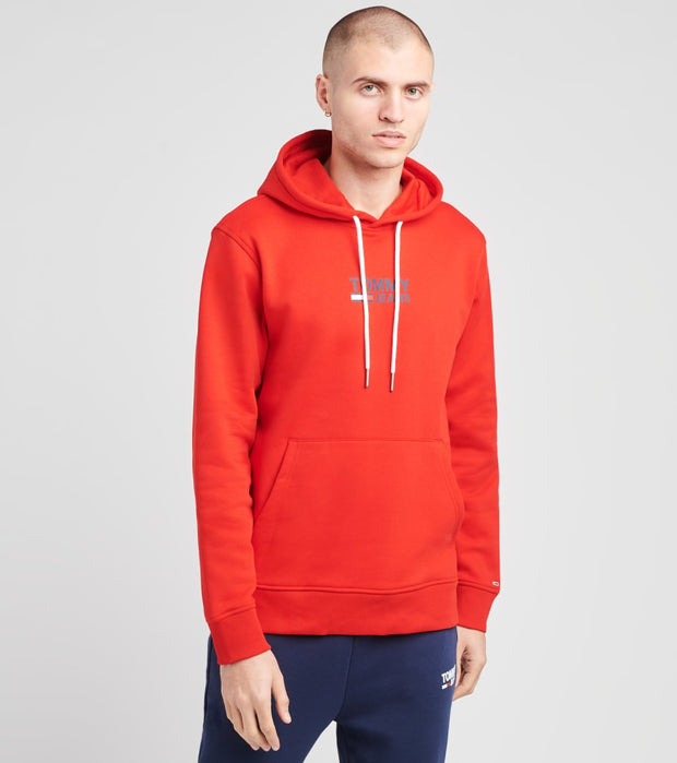 Tommy Hilfiger  Lenny Hoodie  Red - 78F1186-615 | Jimmy Jazz