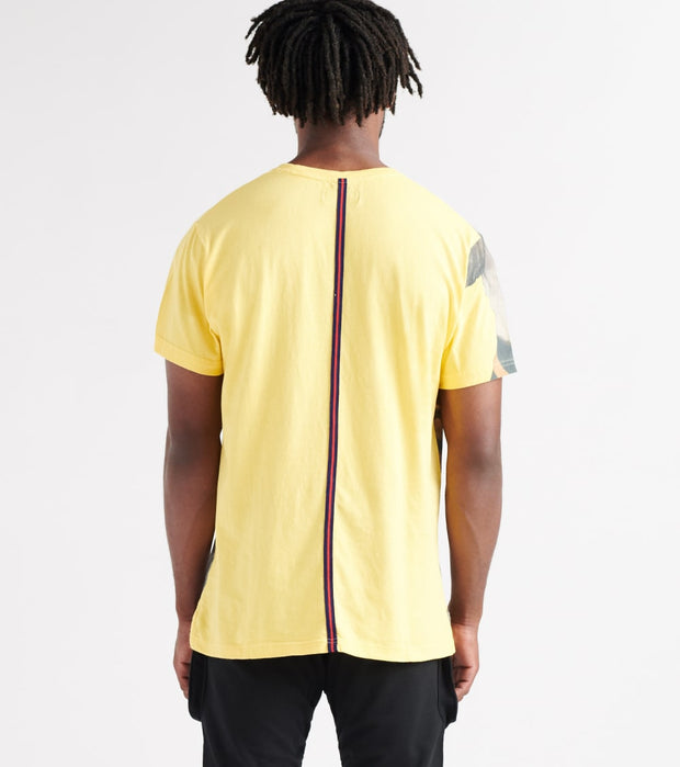 A.K.O.O.  Apache Knitted Tee  Yellow - 7912300-LMN | Jimmy Jazz