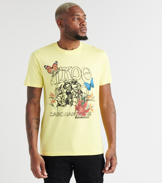 A.K.O.O.  Dice Graphic Tee  Yellow - 7913203-LLT | Jimmy Jazz