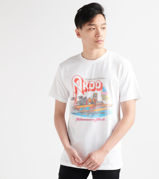 A.K.O.O.  Motor Boating Tee  White - 7913207-WHT | Jimmy Jazz