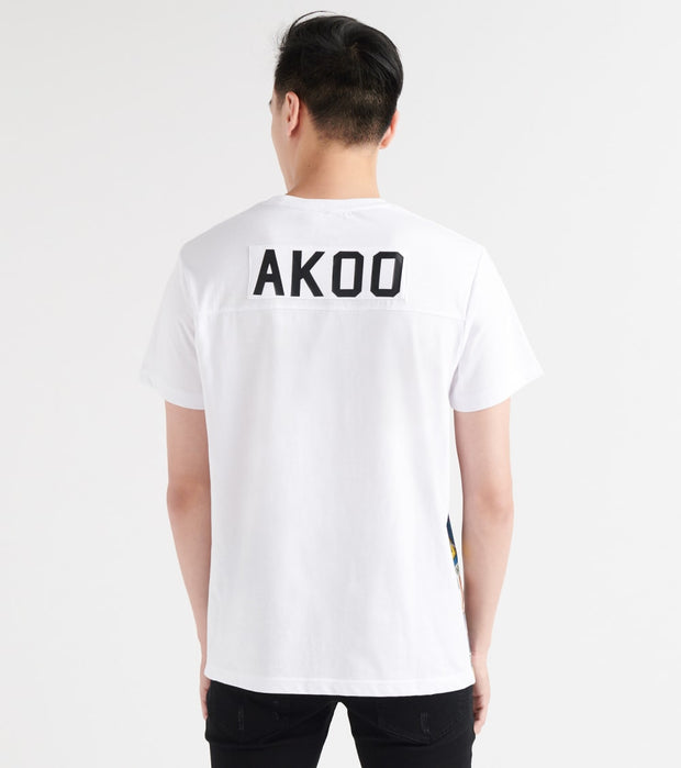 A.K.O.O.  Jetsetter Knit Tee  White - 7913304-BWT | Jimmy Jazz