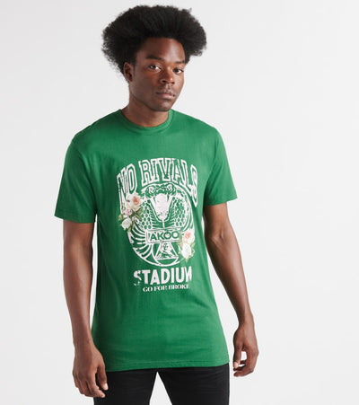 A.K.O.O.  Snakey Tee  Green - 7914201-EDN | Jimmy Jazz