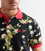 A.K.O.O.  Jungle Polo Shirt  Multi - 7914304-BLK | Jimmy Jazz