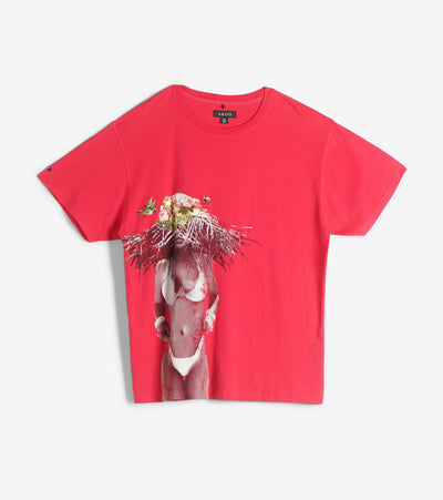 A.K.O.O.  Sun Hat Knit Tee  Red - 7914306-BAR | Jimmy Jazz