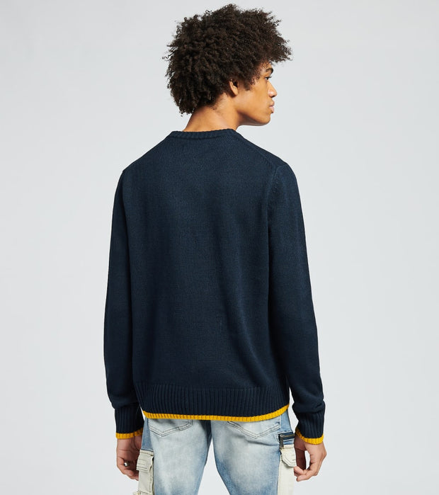 A.K.O.O.  Icon Sweater  Blue - 7918500-DKS | Jimmy Jazz
