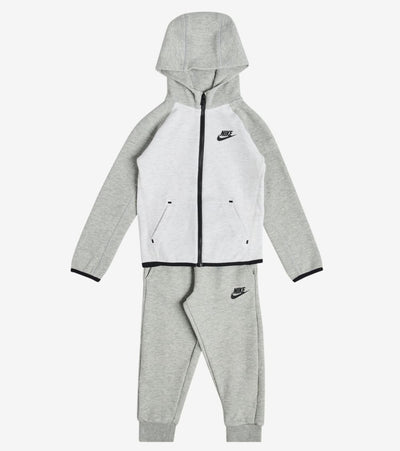 Nike  Infant Tech Full Zip Fleece Set  Grey - 7ME786-042 | Jimmy Jazz