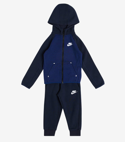 Nike  Infant Tech Full Zip Fleece Set  Blue - 7ME786-695 | Jimmy Jazz