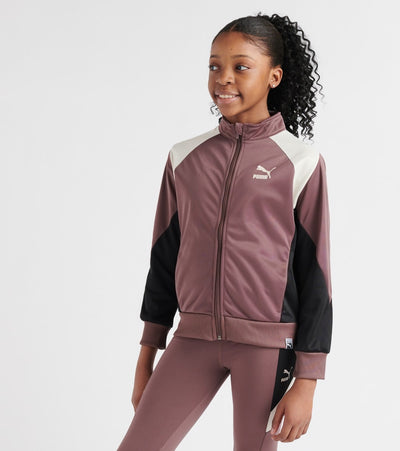 Puma  Poly Color Block Track Jacket  Purple - 811822156FME-P202 | Jimmy Jazz