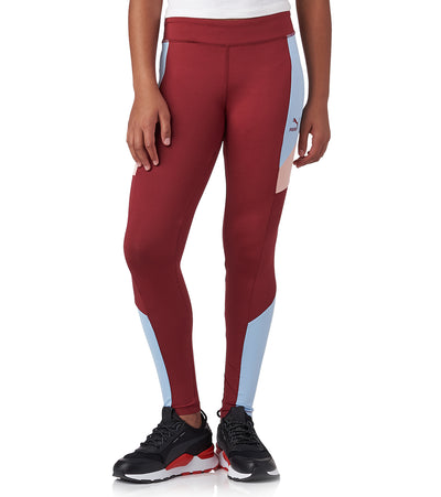Puma  Girls 7-16 Color Block Leggings  Red - 811833325FME-P607 | Jimmy Jazz