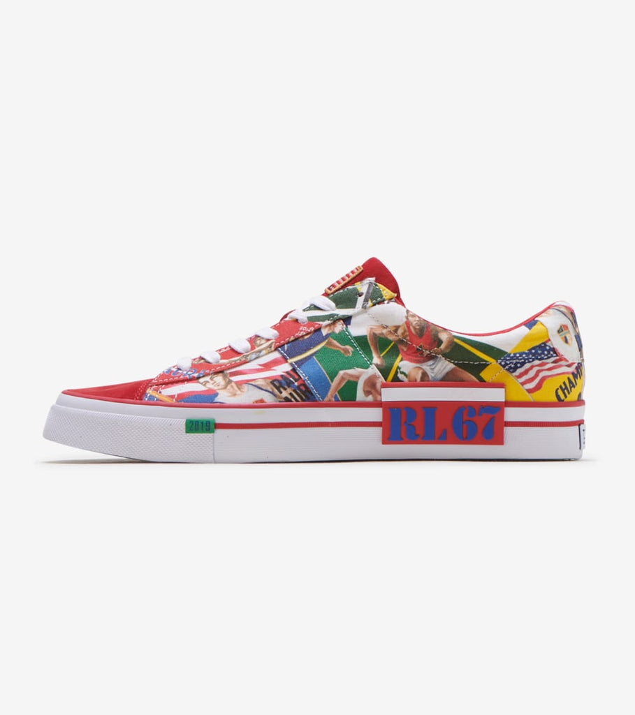 sayer collage canvas sneaker