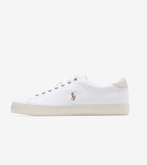 Polo Footwear  Longwood Leather Sneaker  White - 816785024004 | Jimmy Jazz