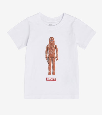 Levis  Boys Star Wars Chewbacca Tee  White - 81B454-001 | Jimmy Jazz