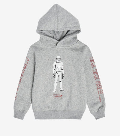 Levis  Boys Star Wars Levis Hoodie  Grey - 81B461-306 | Jimmy Jazz