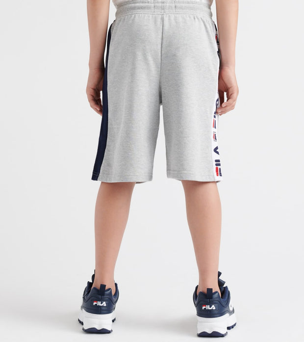 Fila  Logo French Terry Shorts  Grey - 81F335-GRH | Jimmy Jazz