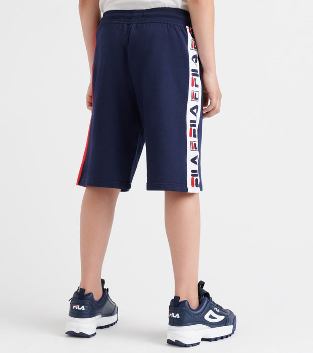 Fila  Logo French Terry Shorts  Navy - 81F335-NVY | Jimmy Jazz