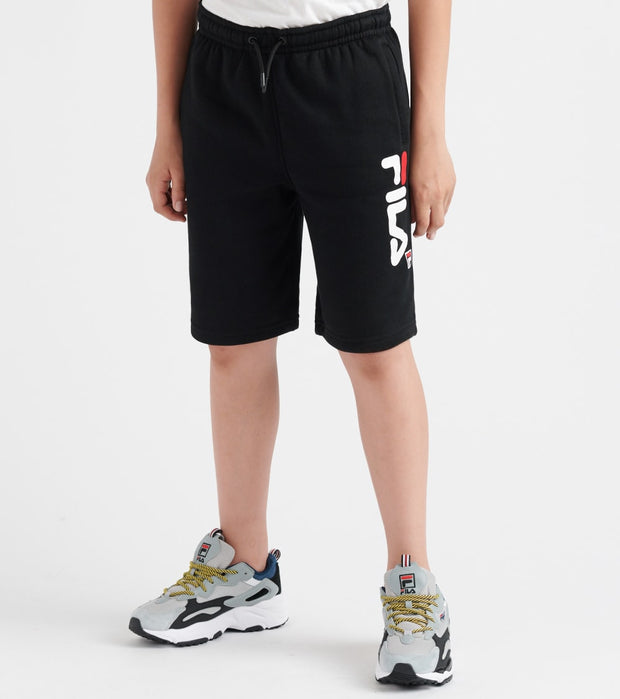 Fila  Fleece Jogger Shorts  Black - 81F336-BLK | Jimmy Jazz