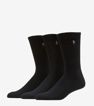 Polo  6 PACK CREW SOCK  Black - 821005PK2-001 | Jimmy Jazz