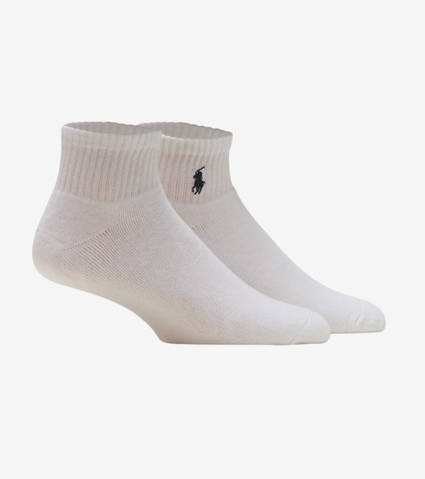 Polo  3 Pack Classic Quarter Sock  White - 824032PK-100 | Jimmy Jazz