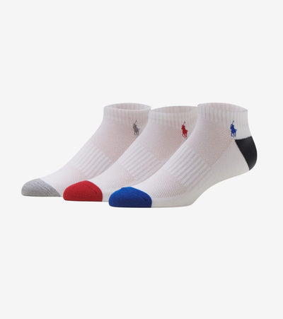Polo  6 Pack Peds Socks  White - 827007PK2-150 | Jimmy Jazz