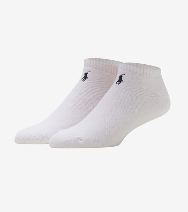Polo  3 Pack Classic Foot Ped Socks  White - 827032PK-100 | Jimmy Jazz