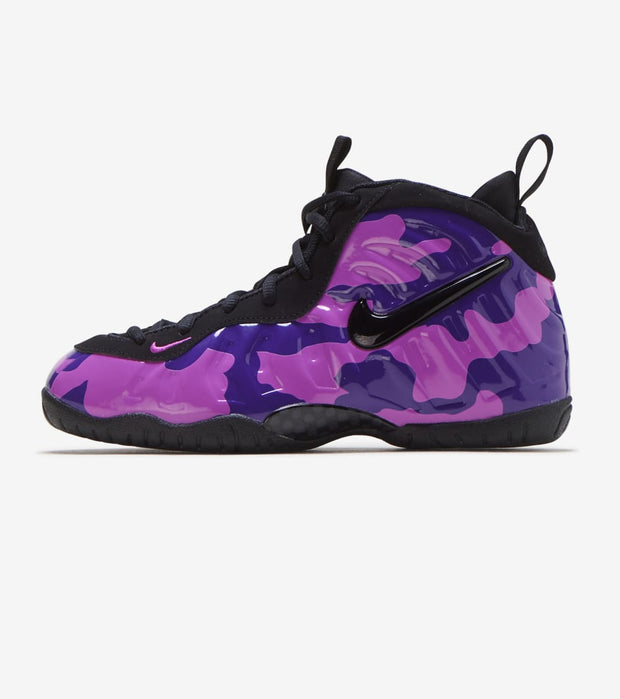 "Nike  Little Posite Pro ""Purple Camo""  Black - 843755-012 