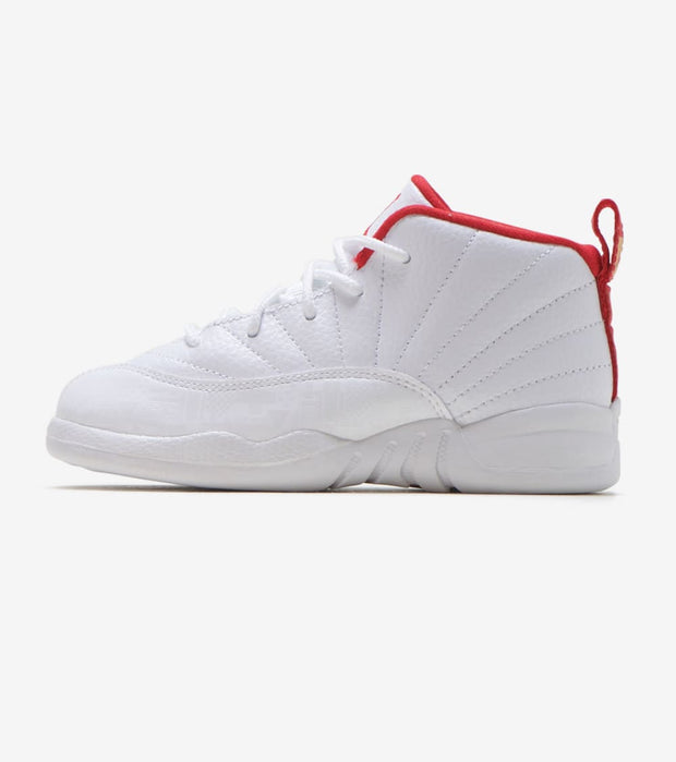 Jordan  Air Jordan 12 Retro FIBA  White - 850000-107 | Jimmy Jazz