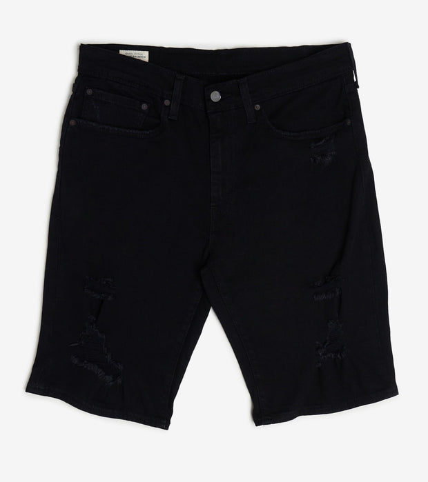 Levis  502 Taper Long Denim Short  Black - 85218-0014 | Jimmy Jazz