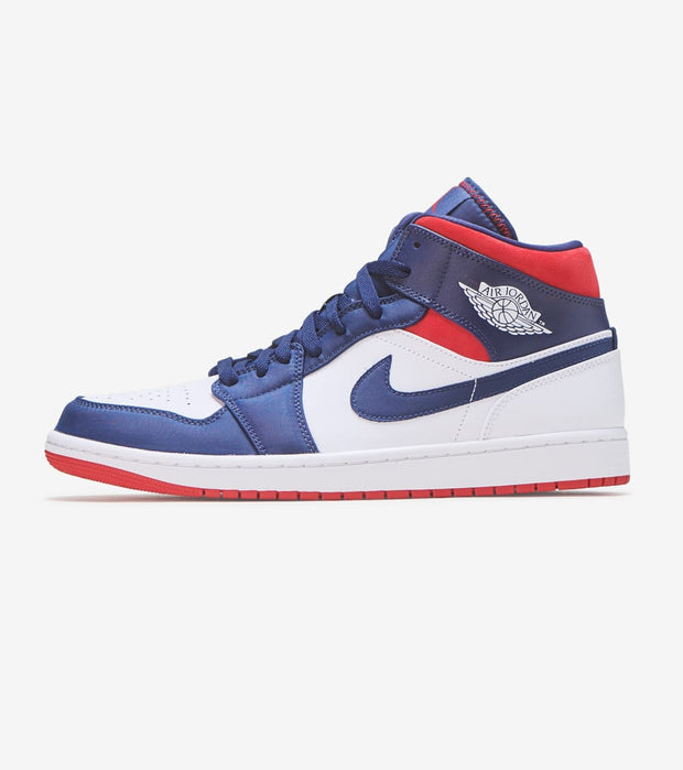 Jordan  Air Jordan 1 Mid SE USA  Blue - 852542-104 | Jimmy Jazz