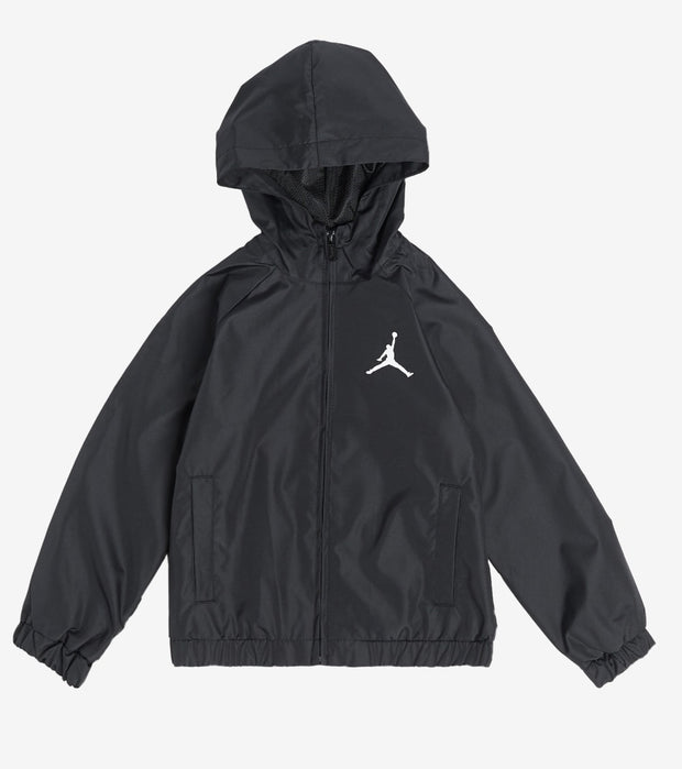 Jordan  Boys Jumpman Windbreaker Jacket  Black - 858025-023 | Jimmy Jazz