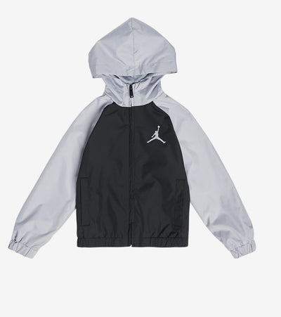Jordan  Boys Jumpman Windbreaker Jacket   Grey - 858025-G3A | Jimmy Jazz