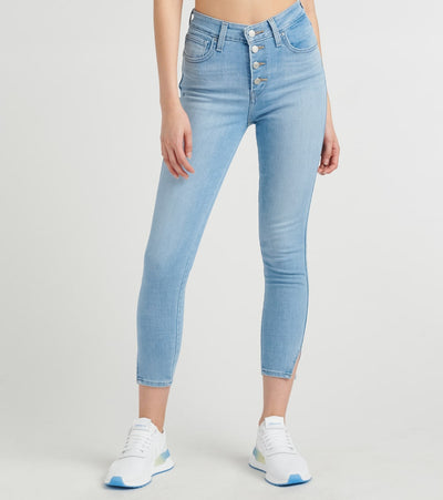 Levis  721 Exposed Buttons Ankle Skinny Jeans  Blue - 85886-0001 | Jimmy Jazz