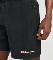 Champion  6 Inch Nylon Warm up Shorts  Black - 86163549724-003 | Jimmy Jazz