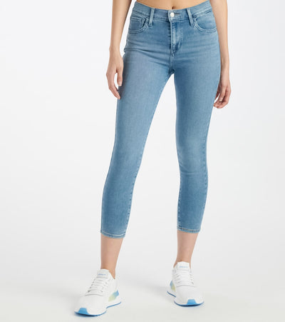 Levis  High Rise Super Skinny Cropped Jeans  Blue - 86646-0001 | Jimmy Jazz