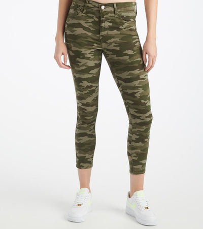 Levis  720 Skinny Cropped Jeans  Green - 86646-0004 | Jimmy Jazz