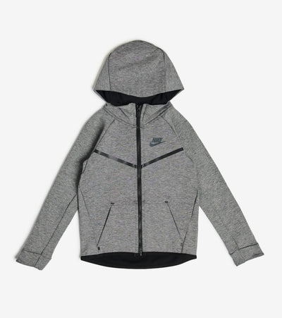 Nike  Boys Tech Fleece Full Zip Hoodie  Black - 86B202-G4W | Jimmy Jazz