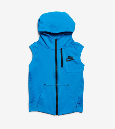 Nike  Boys NSW Tech Fleece Full Zip Vest  Blue - 86D221-U6A | Jimmy Jazz