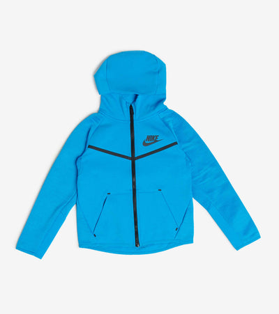 Nike  Boys Nsw Tech Fleece Full Zip Hoodie  Blue - 86D238-U6A | Jimmy Jazz