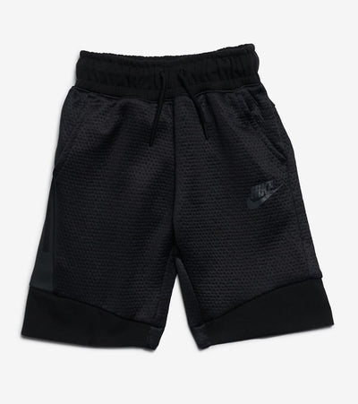 Nike  Boys Tech Fleece Shorts  Black - 86D243-023 | Jimmy Jazz