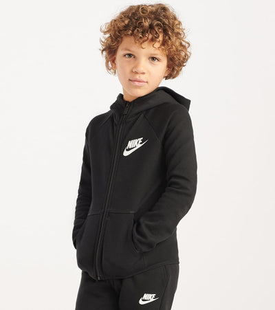 Nike  Boys 4-7 Tech Fleece Full Zip Hoodie  Black - 86E312-023 | Jimmy Jazz