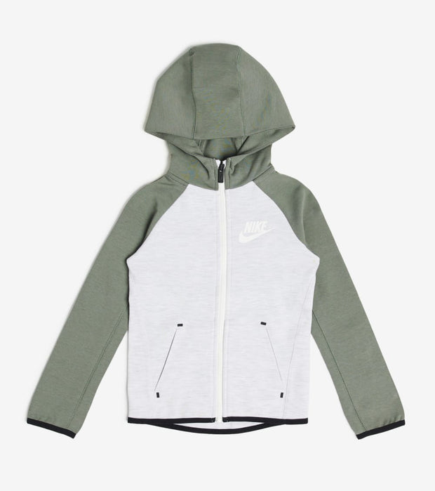 Nike  Boys NSW Tech Fleece Full Zip Hoodie  Grey - 86E312-F1M | Jimmy Jazz